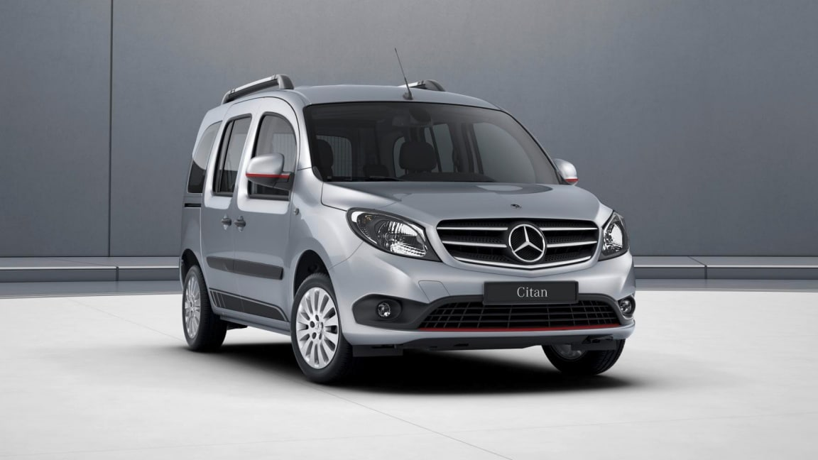 Citan Tourer, Design Paket RED