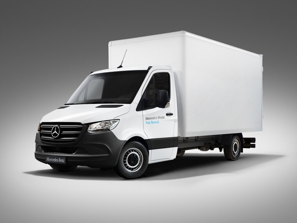 Sprinter Koffer von Mercedes-Benz Van Rental
